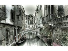 Fotobehang Vlies   Venetië   Grijs   368x254cm (bxh)