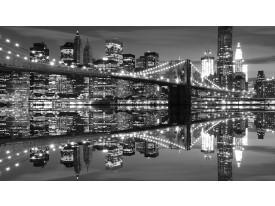 Fotobehang Vlies | New York | Zwart, Wit | 368x254cm (bxh)