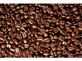 Fotobehang Papier Keuken, Koffie | Bruin | 254x184cm