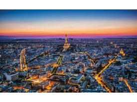 Fotobehang Parijs | Blauw | 152,5x104cm