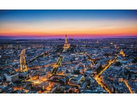 Fotobehang Vlies   Parijs   Blauw   368x254cm (bxh)