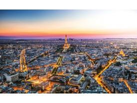 Fotobehang Parijs   Geel   416x254
