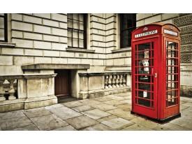 Fotobehang Engeland | Rood | 312x219cm