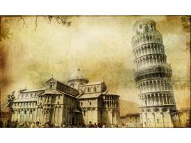 Fotobehang Pisa   Sepia   312x219cm