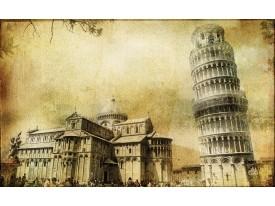 Fotobehang Vlies   Pisa   Sepia   368x254cm (bxh)