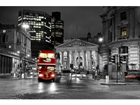 Fotobehang Papier London | Zwart, Grijs | 254x184cm