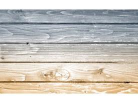 Fotobehang Vlies   Hout   Grijs, Geel   368x254cm (bxh)