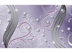 Fotobehang Vlies | Abstract | Paars, Zilver | 368x254cm (bxh)