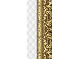 Deursticker Muursticker Klassiek | Goud, Wit | 91x211cm