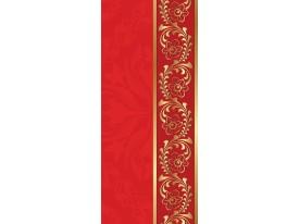 Deursticker Muursticker Klassiek | Rood, Goud | 91x211cm