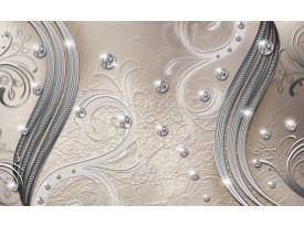 Fotobehang Vlies | Modern | Zilver | 368x254cm (bxh)