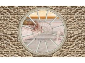Fotobehang Vlies   Muur, Strand   Crème   368x254cm (bxh)