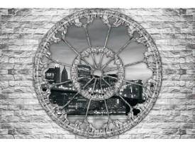Fotobehang Vlies | New York, Muur | Grijs | 368x254cm (bxh)