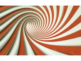 Fotobehang Design, Slaapkamer   Oranje   104x70,5cm