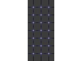 Deursticker Muursticker Modern  | Grijs, Blauw | 91x211cm