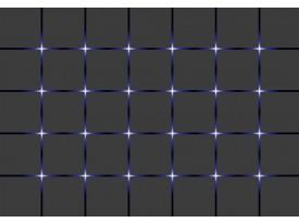 Fotobehang Vlies | Design | Grijs, Blauw | 368x254cm (bxh)