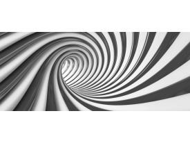 Fotobehang Design, Diepte | Zwart | 250x104cm