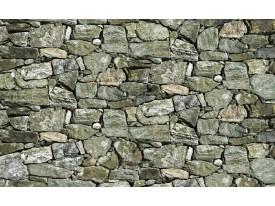Fotobehang Papier Stenen, Muur | Groen | 368x254cm