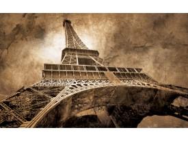 Fotobehang Vlies   Eiffeltoren, Parijs   Sepia   368x254cm (bxh)