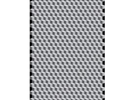 Fotobehang Papier 3D | Grijs | 184x254cm