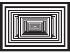 Fotobehang 3D, Design | Zwart | 152,5x104cm