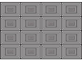 Fotobehang Design | Zwart, Wit | 312x219cm