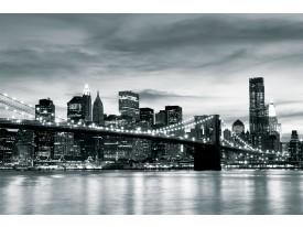 Fotobehang New York | Grijs | 104x70,5cm