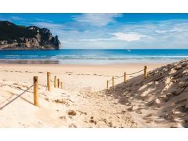 Fotobehang Vlies | Strand, Zee | Blauw | 368x254cm (bxh)