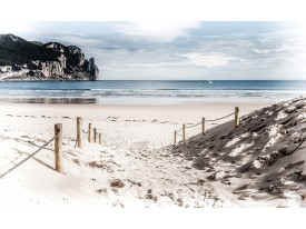 Fotobehang Strand, Zee | Blauw | 152,5x104cm