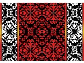 Fotobehang Vlies | Abstract | Rood, Zwart | 368x254cm (bxh)
