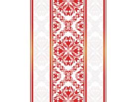 Fotobehang Papier Klassiek | Rood, Oranje | 184x254cm