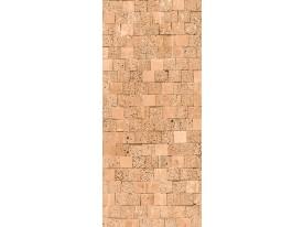 Deursticker Muursticker Stenen | Crème | 91x211cm
