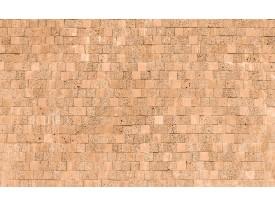 Fotobehang Stenen, Muur | Crème | 416x254