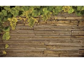 Fotobehang Vlies | Hout | Groen, Bruin | 368x254cm (bxh)