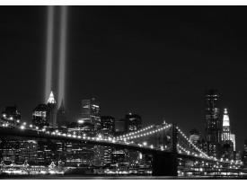 Fotobehang Vlies | New York | Zwart | 368x254cm (bxh)
