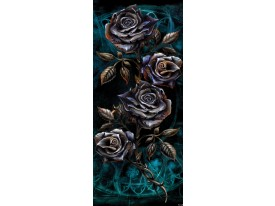Deursticker Muursticker Alchemy, Gothic | Zwart | 91x211cm