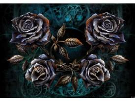 Fotobehang Vlies | Alchemy Gothic | Zwart | 368x254cm (bxh)