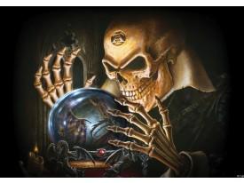 Fotobehang Alchemy Gothic | Bruin | 208x146cm
