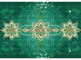 Fotobehang Vlies   Modern   Groen   368x254cm (bxh)
