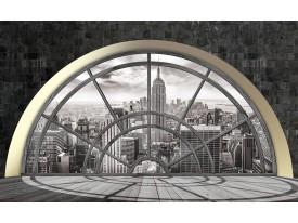 Fotobehang Vlies | Skyline, Modern | Grijs | 368x254cm (bxh)