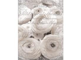 Fotobehang Papier Rozen, Bloemen | Grijs | 184x254cm