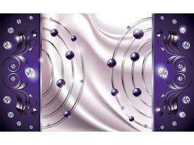 Fotobehang Vlies | Modern | Paars, Zilver | 368x254cm (bxh)