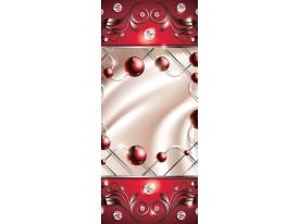 Fotobehang Design | Rood | 91x211cm