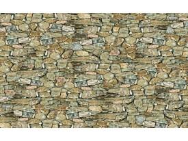 Fotobehang Papier Stenen, Muur   Grijs   368x254cm