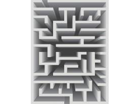 Fotobehang 3D, Design | Grijs | 206x275cm