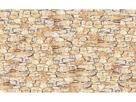 Fotobehang Papier Muur, Stenen | Crème | 254x184cm
