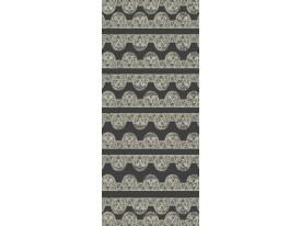 Deursticker Muursticker Abstract | Grijs | 91x211cm