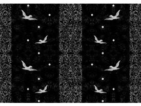 Fotobehang Vogels | Zwart | 312x219cm