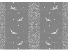 Fotobehang Vlies   Vogels   Grijs   368x254cm (bxh)