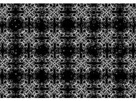 Fotobehang Papier Klassiek | Zwart, Wit | 368x254cm